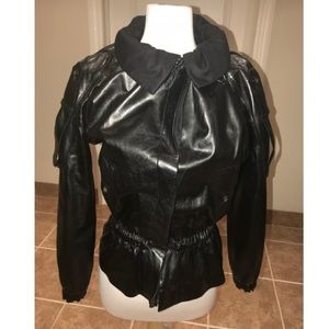 Yves Saint Laurent • Rive Gauche • Leather Jacket